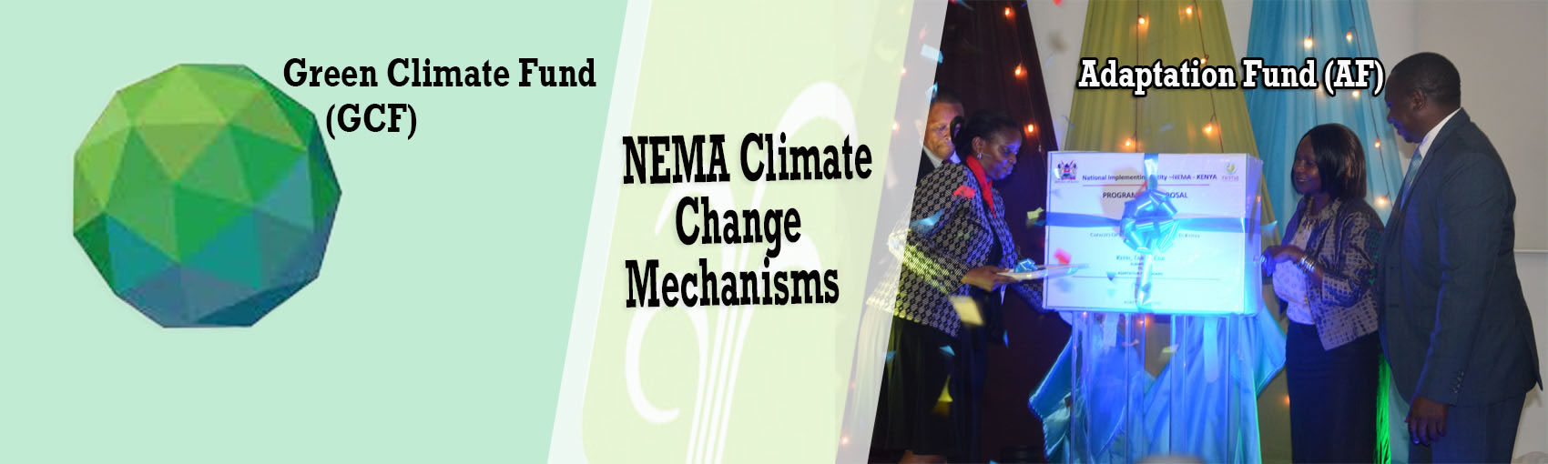 NEMA Climate Change mechanisms