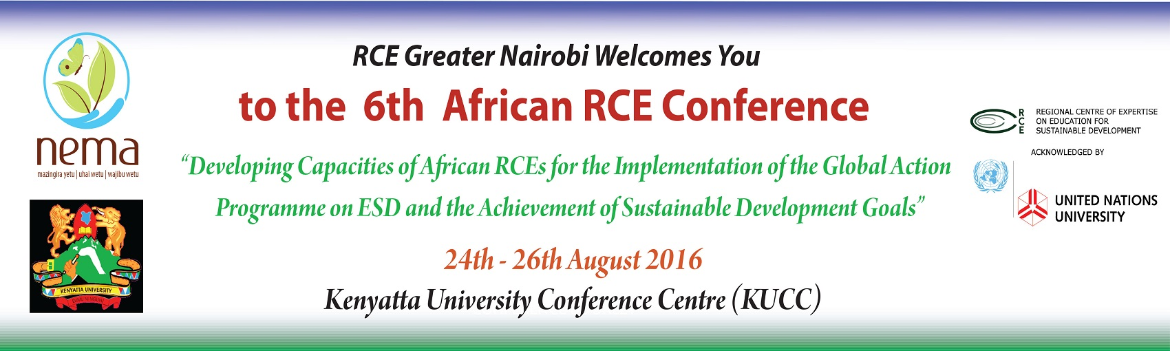 The 6th African RCE Conference